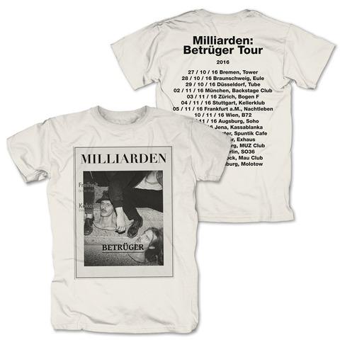 √Betrüger Tour 2016 von Milliarden - T-shirt jetzt im Bravado Shop