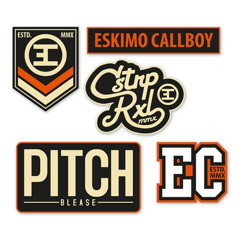 Logos von Eskimo Callboy - Patch - Set jetzt im Bravado Shop