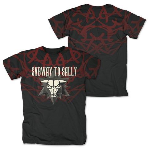 √Star Logo Allover von Subway To Sally - T-Shirt jetzt im Bravado Shop