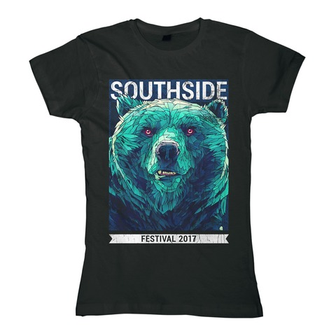 √Early Bear von Southside Festival - Girlie Shirt jetzt im Bravado Shop