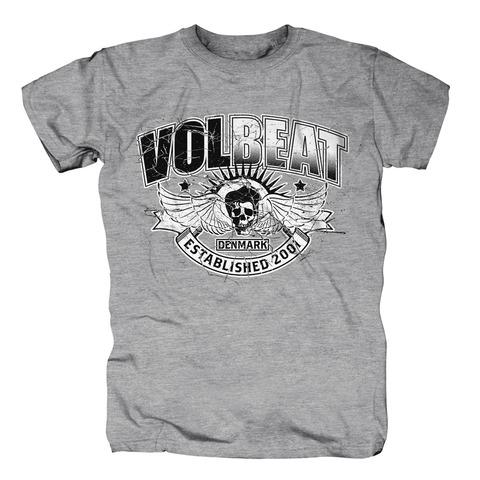 Crashed Skullwing von Volbeat - T-Shirt jetzt im Bravado Shop