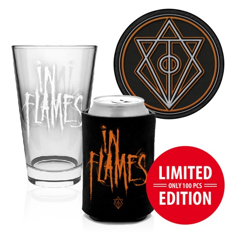 √Glas, Koozie, Patch von In Flames - Accessories Bundle jetzt im Bravado Shop