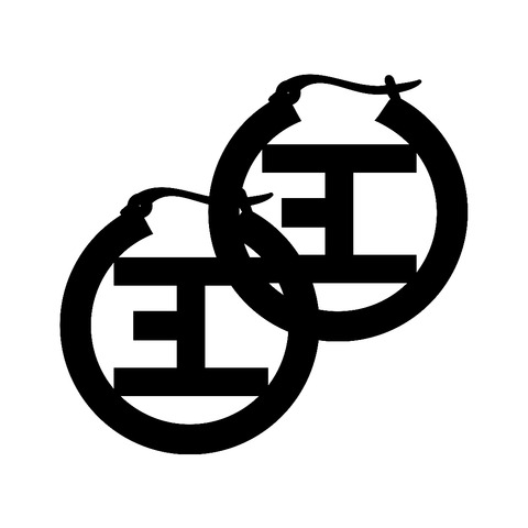 Black Logo von Eskimo Callboy - Ohrringe (Paar) jetzt im Bravado Shop