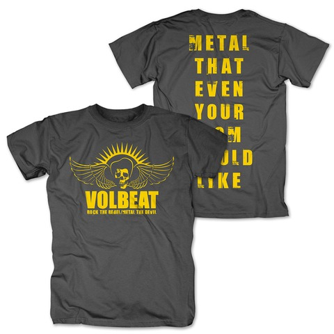 √Rock the Rebel - Metal the Devil yellow von Volbeat - T-Shirt jetzt im Bravado Shop