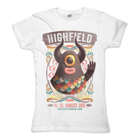 √20 Jahre High von Highfield Festival - Girlie shirt jetzt im Bravado Shop