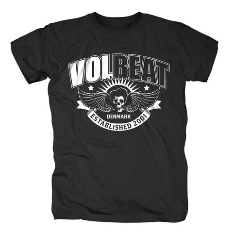 √Skullwing Ribbon von Volbeat - T-Shirt jetzt im Bravado Shop