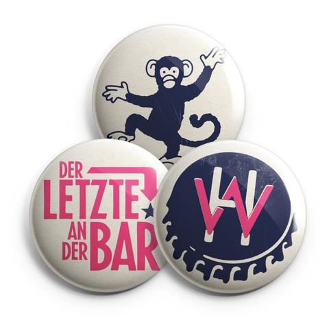 diverse von Henning Wehland - 3er Button Set jetzt im Bravado Shop