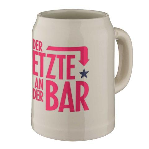√Big Typo - der Letzte an der Bar von Henning Wehland - Bierkrug jetzt im Bravado Shop