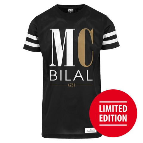 √Big Letters von Mc Bilal - Mesh Shirt jetzt im Bravado Shop