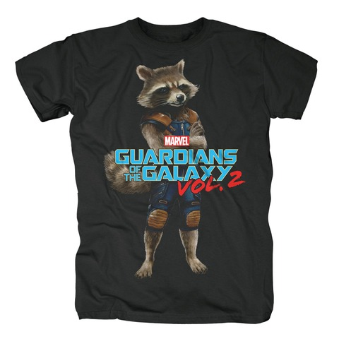 √Rocket Racoon von Guardians of the Galaxy - T-Shirt jetzt im Bravado Shop