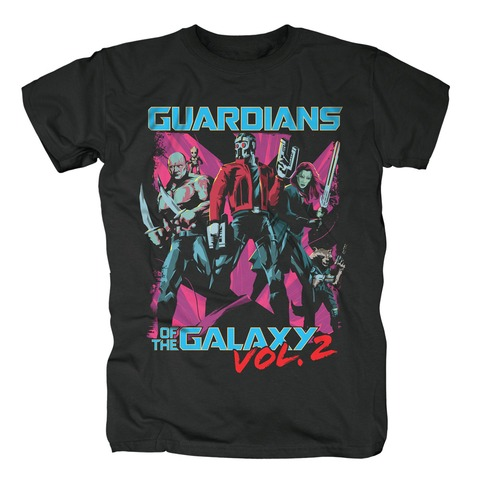 √Comic Squad von Guardians of the Galaxy - T-Shirt jetzt im Bravado Shop