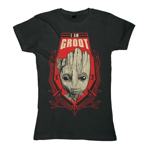 Groot Shield von Guardians of the Galaxy - Girlie Shirt jetzt im Bravado Shop