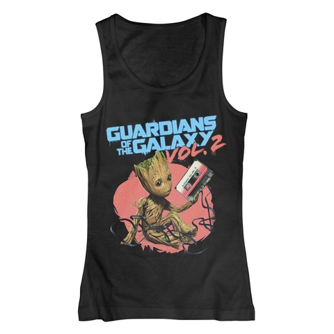 √Groot Tape von Guardians of the Galaxy - Girlie Top jetzt im Bravado Shop