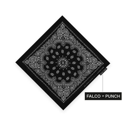 Black Paisley von Falco Punch - Bandana jetzt im Bravado Shop