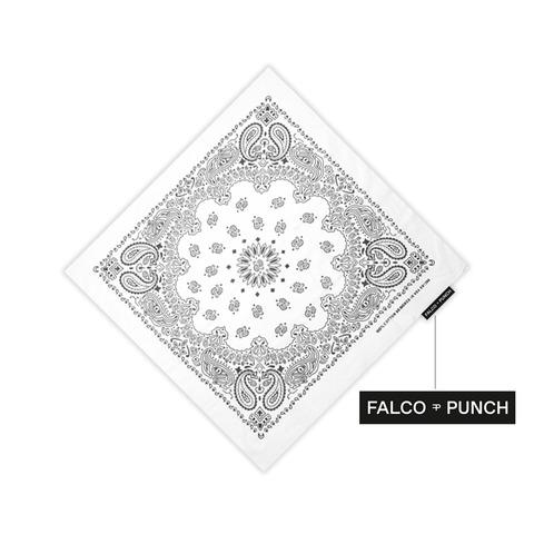 White Paisley von Falco Punch - Bandana jetzt im Bravado Shop