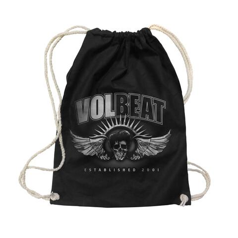 Dark Skullwing Two Tone von Volbeat - Gym Bag jetzt im Bravado Shop