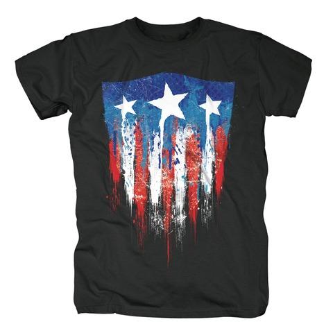 √Captain America - Sprayed Flag von Marvel Comics - T-Shirt jetzt im Bravado Shop