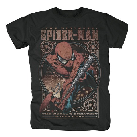√Spider-Man - World's Greatest von Marvel Comics - T-Shirt jetzt im Bravado Shop