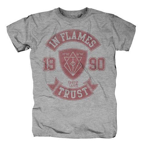 √We Trust College von In Flames - T-shirt jetzt im Bravado Shop