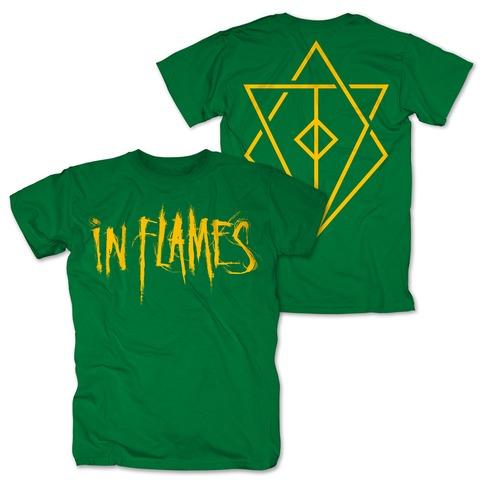 √Logo green von In Flames - T-shirt jetzt im Bravado Shop
