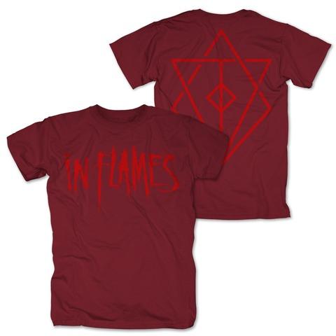 √Logo red von In Flames - T-shirt jetzt im Bravado Shop