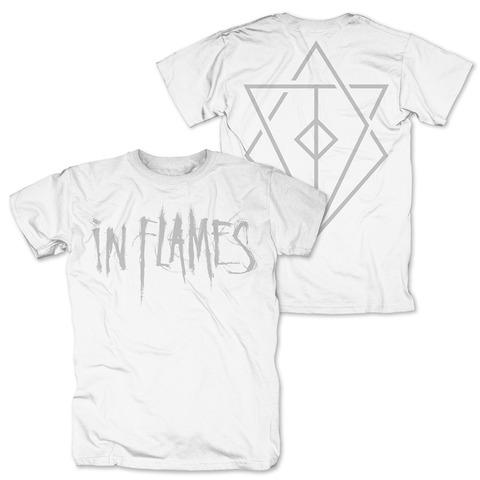√Logo white von In Flames - T-shirt jetzt im Bravado Shop