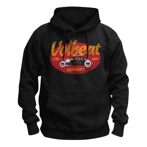 Oval Car von Volbeat - Kapuzenpullover jetzt im Bravado Shop