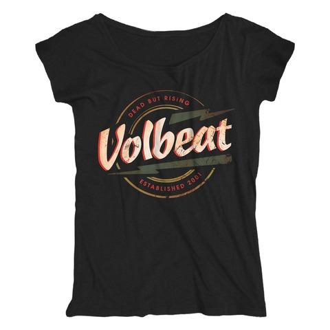 Flash Logo - Dead But Rising von Volbeat - Girlie Shirt Loose Fit jetzt im Bravado Shop