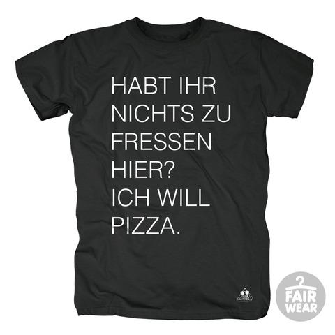 Ich will Pizza von Deichkind - T-Shirt jetzt im Bravado Shop