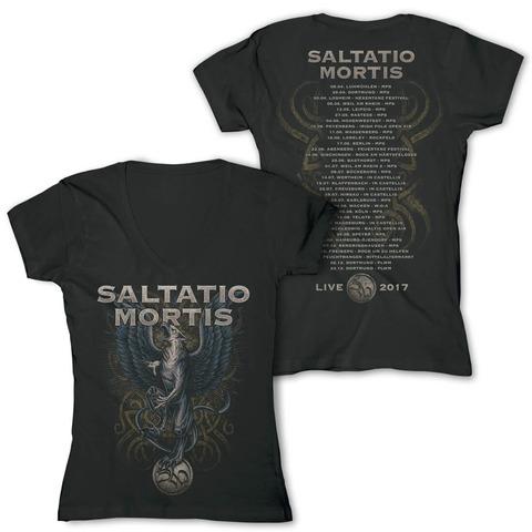 Festivalmotiv 2017 von Saltatio Mortis - Girlie Shirt jetzt im Bravado Shop