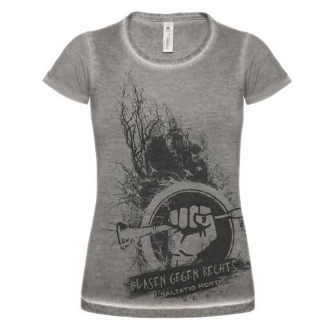 √Blasen gegen Rechts Dusk von Saltatio Mortis - Girlie Shirt jetzt im Bravado Shop