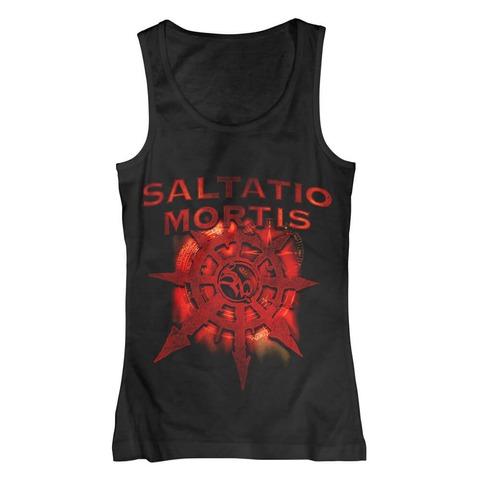 √Red Star von Saltatio Mortis - Girlie Top jetzt im Bravado Shop