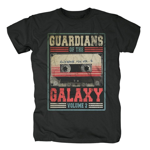 √Awesome Mix Vol 2 von Guardians of the Galaxy - T-Shirt jetzt im Bravado Shop