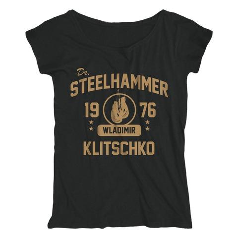 Dr. Steelhammer Boxing Gloves von Klitschko - Loose Fit Girlie Shirt jetzt im Bravado Shop