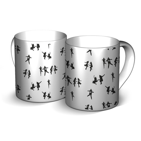 √Tetraeder Swingers von Deichkind - ceramic jetzt im Bravado Shop