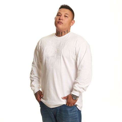 √Loyal Panther white von Kontra K - Long-sleeve jetzt im Bravado Shop
