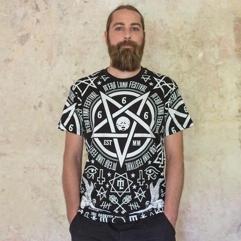 √Occult Allover von Mera Luna Festival - T-shirt jetzt im Bravado Shop