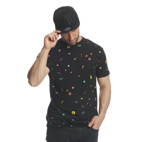 √Icons Allover von Parookaville Festival - T-Shirt jetzt im Bravado Shop