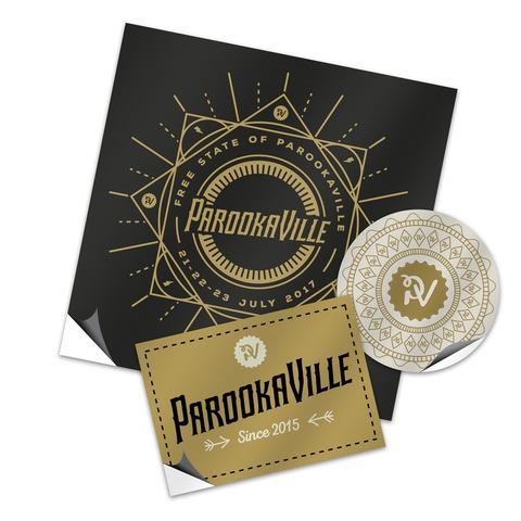 Logo von ParookaVille Festival - Auto-Aufkleber Set jetzt im Bravado Shop