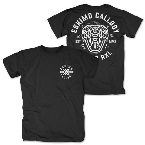 √Dead Snake von Eskimo Callboy - T-Shirt jetzt im Bravado Shop