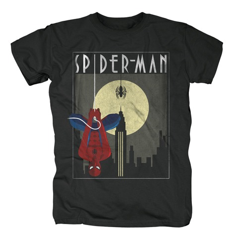 √Spider-Man - Hang Around von Marvel Comics - T-Shirt jetzt im Bravado Shop