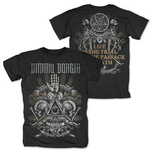 √Life Is The Trial von Dimmu Borgir - T-Shirt jetzt im Bravado Shop