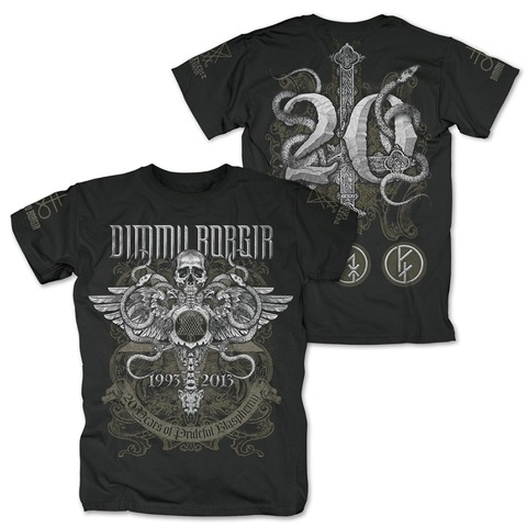 √Anniversary von Dimmu Borgir - T-Shirt jetzt im Bravado Shop
