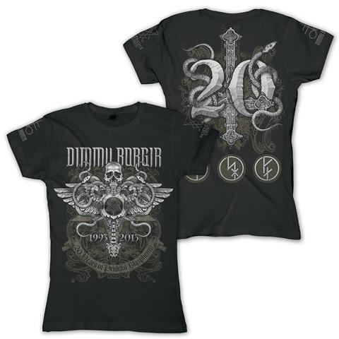 √Anniversary von Dimmu Borgir - Ladies T-Shirt jetzt im Bravado Shop