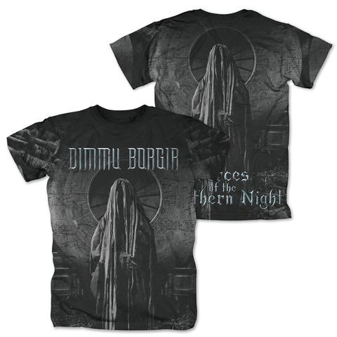 √FOTNN Allover von Dimmu Borgir - T-Shirt jetzt im Bravado Shop