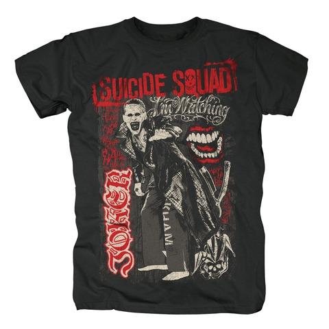 √Joker Scribbles von Suicide Squad - T-Shirt jetzt im Bravado Shop