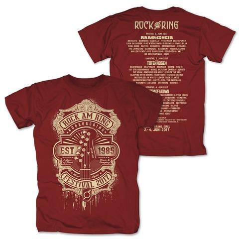 Golden Guitar von Rock am Ring Festival - T-Shirt jetzt im Bravado Shop