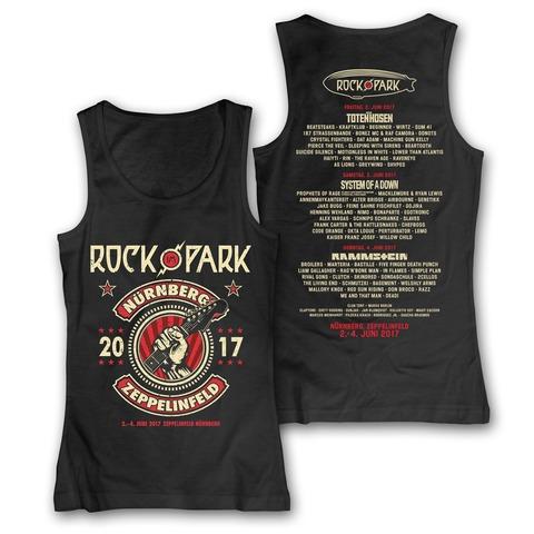 √Guitar Hand von Rock im Park Festival - Girlie Tank Top jetzt im Bravado Shop