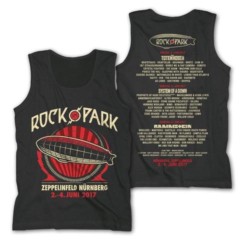 Big Zeppelin von Rock im Park Festival - Men's Tank Top jetzt im Bravado Shop