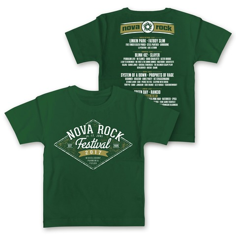 √Diamond Sign von Nova Rock Festival - Kids Shirt jetzt im Bravado Shop